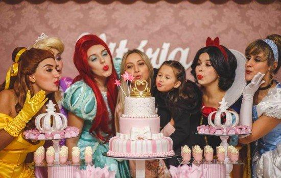 Pocket Show Princesas-Aniversário Vitória