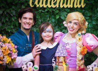 Rapunzel e Flynn Rider